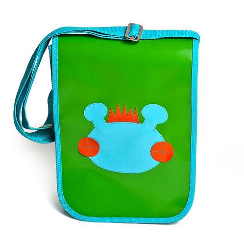 Tasche grün / Willy helllau