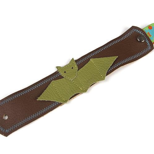 Armband braun / Fledermaus