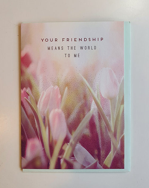 Your Friendship - Tulips