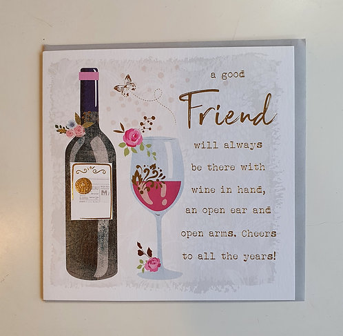 A Good Friend - Wine