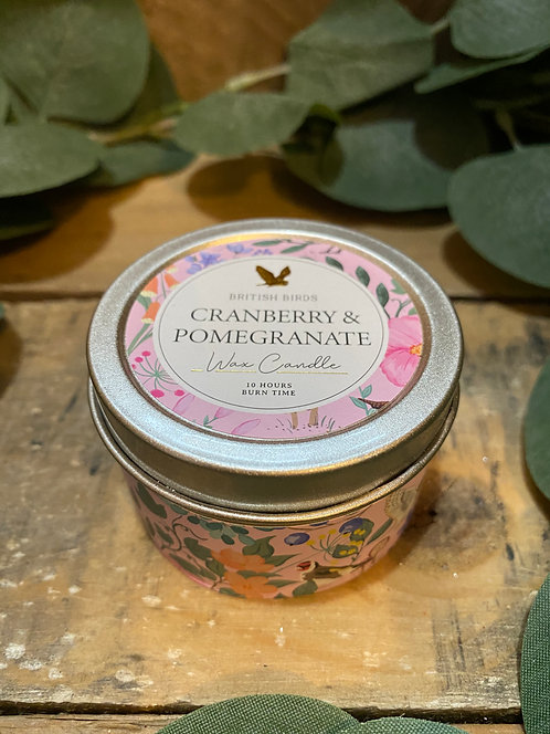 Cranberry and Pomegranate Candle