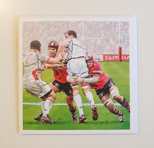 Macneil - Rugby Tackle