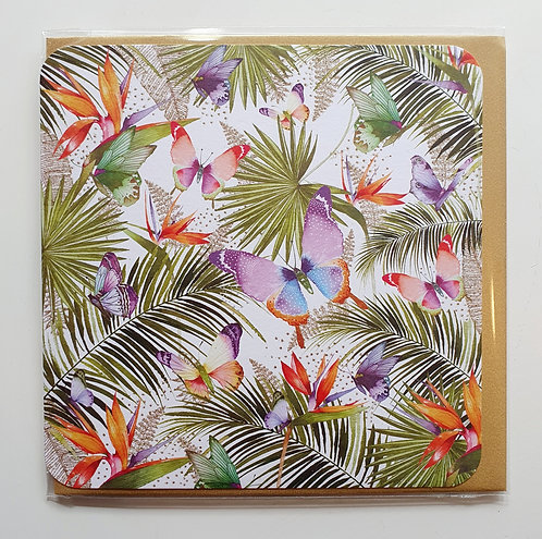 Butterflies & Palm Trees