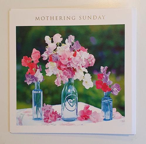 Mothering Sunday - Sweetpeas