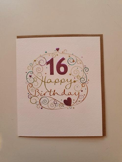 16th -  Hearts & Swirls