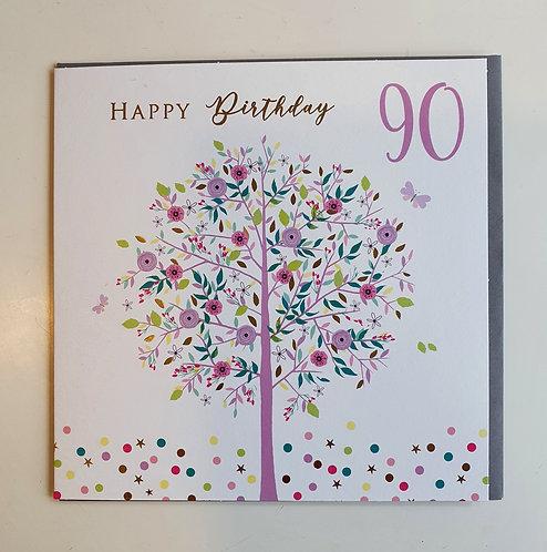 90 - Floral Tree