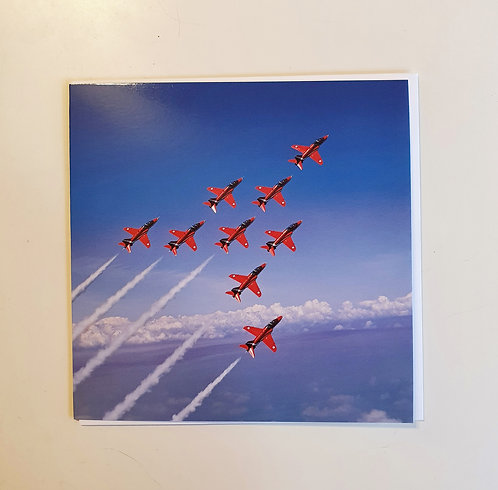 RAF Red Arrows - Colour