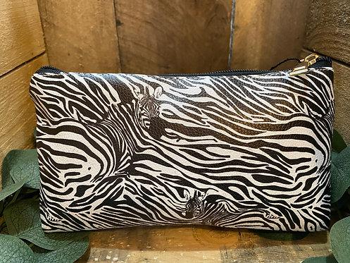 Zebra Cosmetics Bag