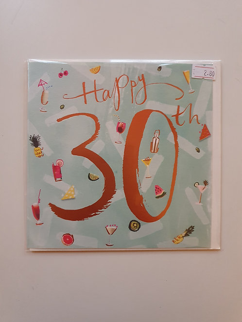 30th - Cocktails & Fruit