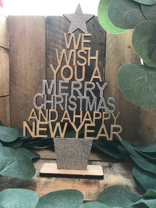 Merry Christmas New year tree