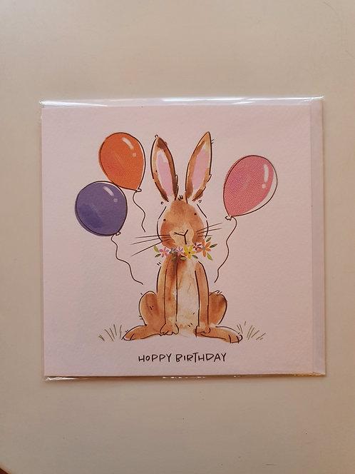 HB - Bunny & Balloons