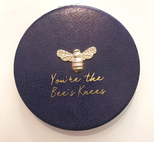 The BEE KEEPER 'You're the Bees Knees' compact mirror