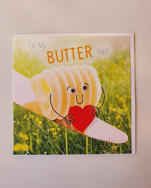To My Butter Half