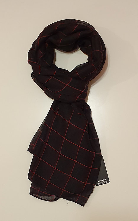 Black & Red Checked