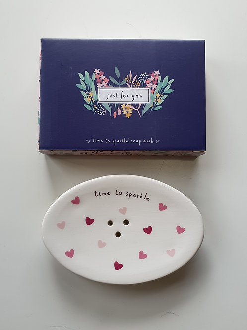 Time To Sparkle Soap Dish