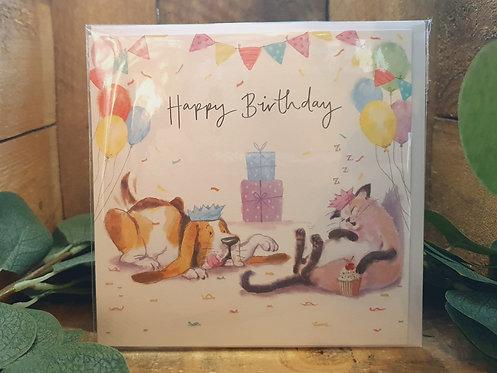Party Animals Happy Birthday