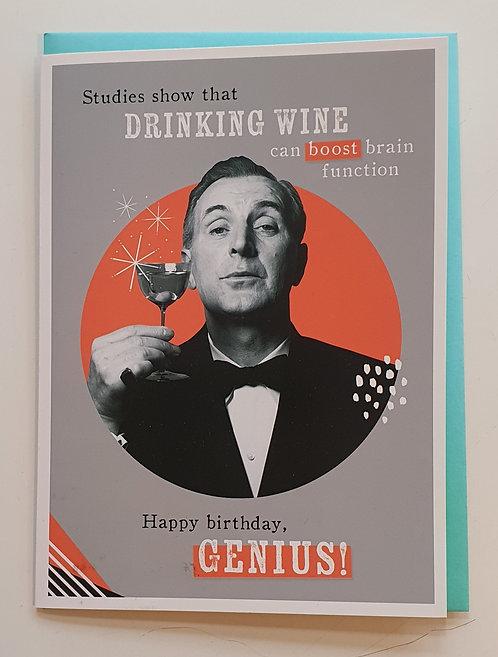 Happy Birthday Genius