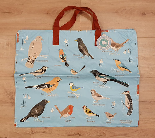 British Garden Birds Jumbo Storage Bag