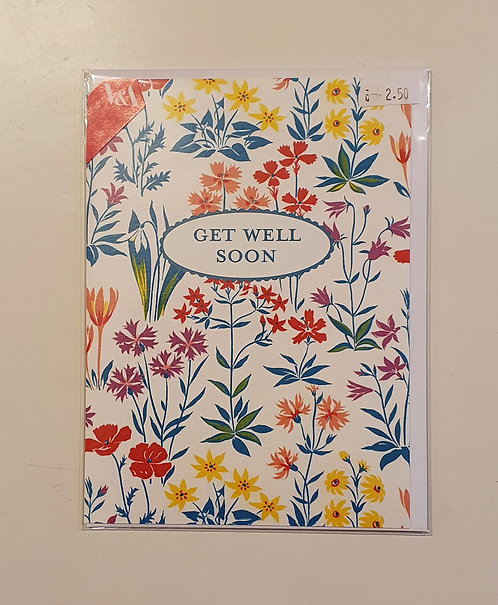 Get Well Soon - V&A Flowers