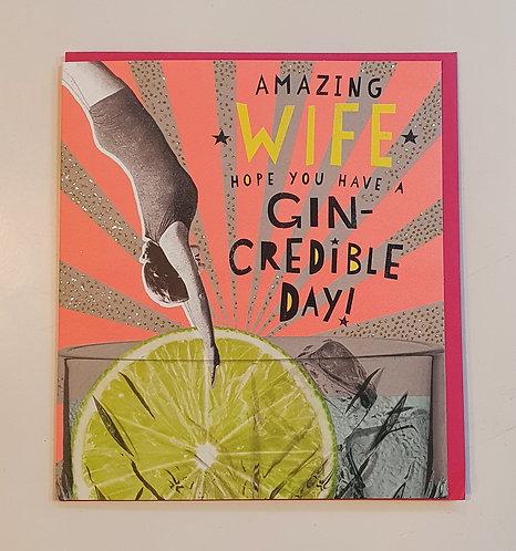 Amazing Wife - Gin-Credible Day!