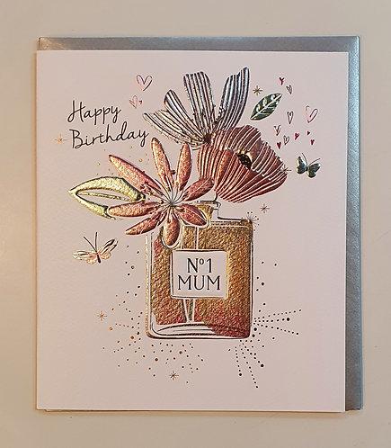 HB - No.1 Mum, Flowers & Perfume