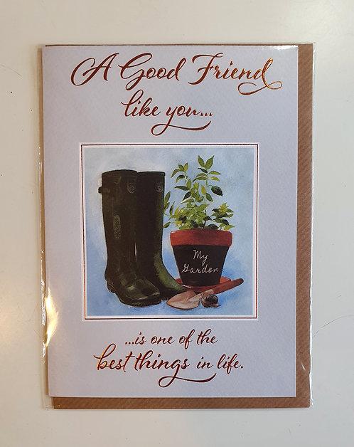 A Good Friend - Wellies