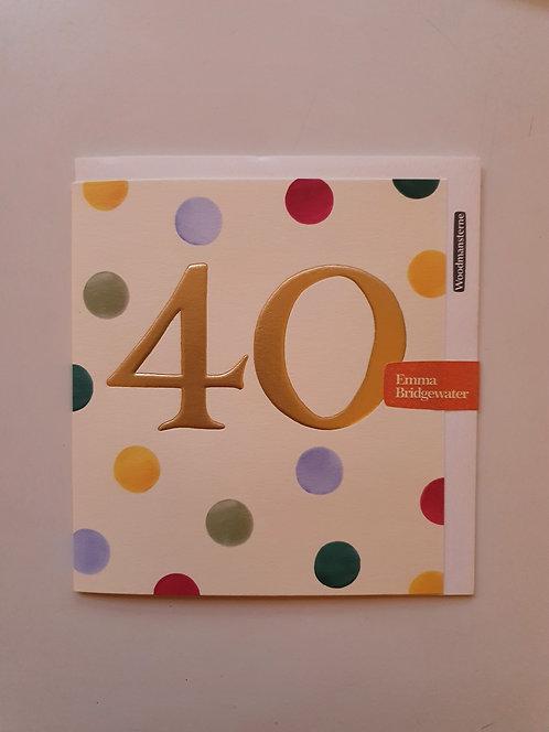 40 - Emma Bridgewater