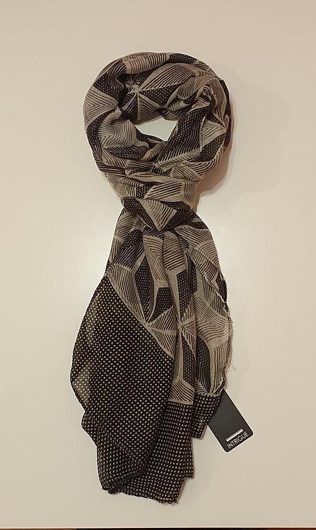 Black & White Geometric Print
