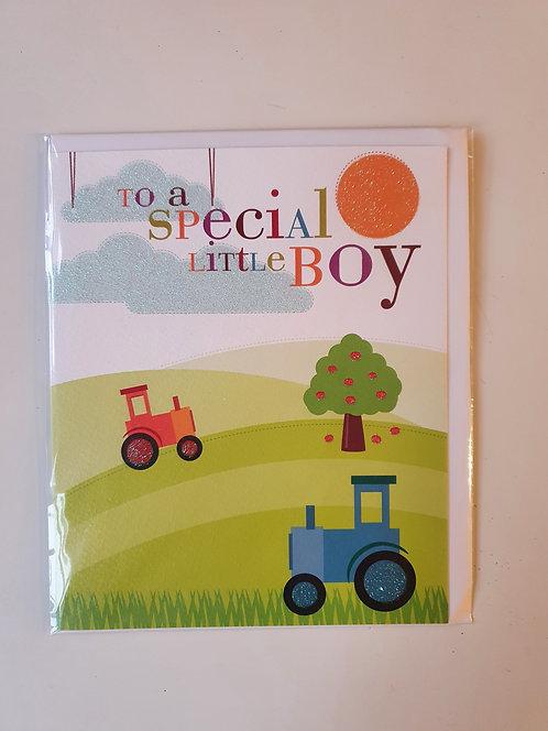 HB - Special Little Boy - Tractors