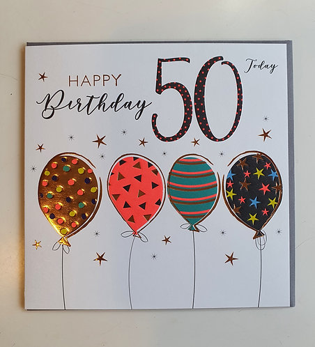 50 - Balloons