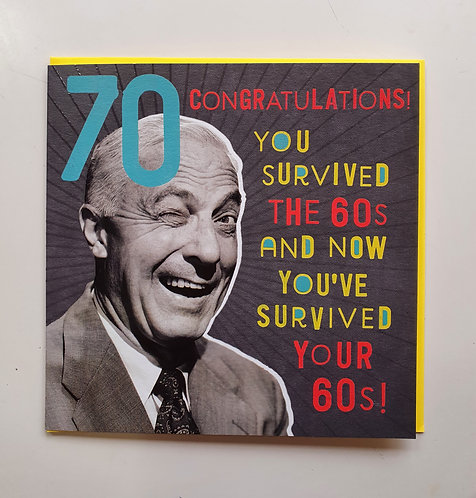 70 - Survived The 60's