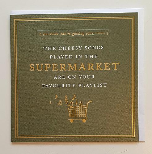 Cheesy Supermarket Songs