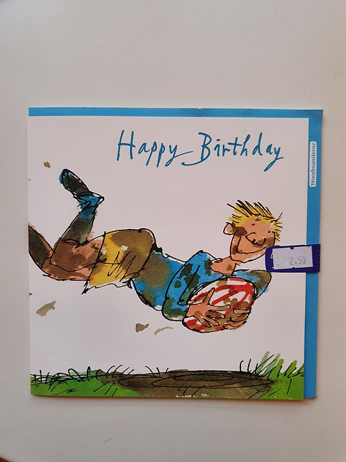 HB - Quentin Blake - Rugby