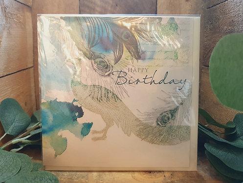 Happy Birthday Peacock