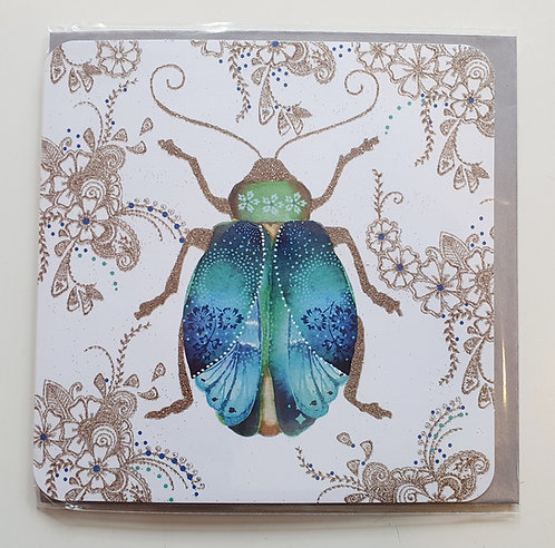 Blue & Green Beetle
