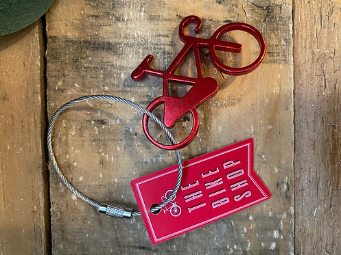 Bike Keyring and Bottle Opener