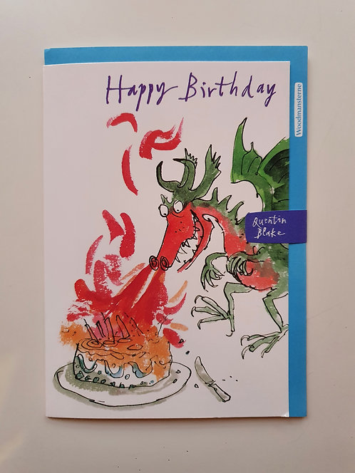 HB - Quentin Blake - Dragon & Cake
