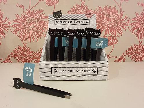 Black Cat Tweezer