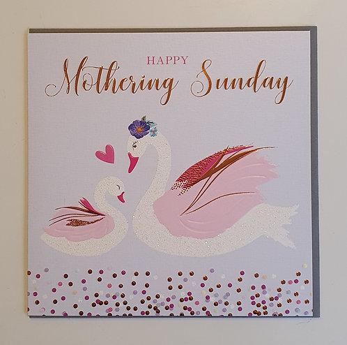 Mothering Sunday - Swans