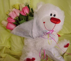 Bear Hug Bouquets
