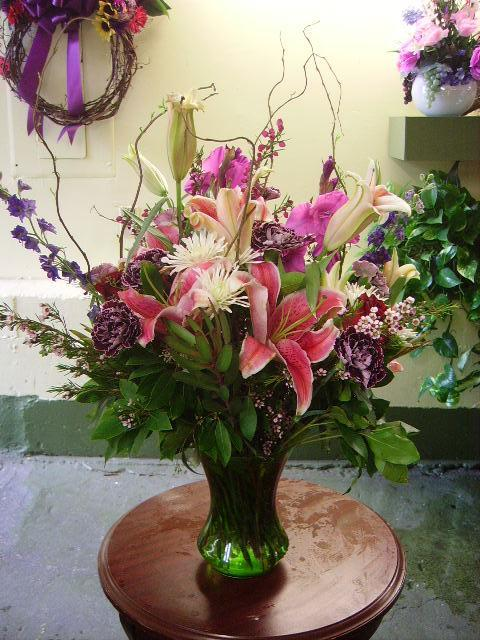 $75 Large Vase Arrangements