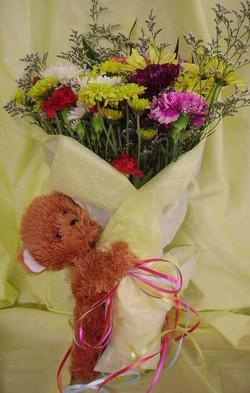$18 Wild Flower Bear Hug