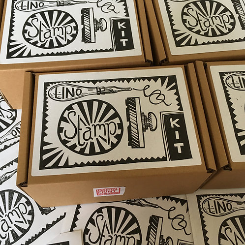 Linocut Stamp Kit
