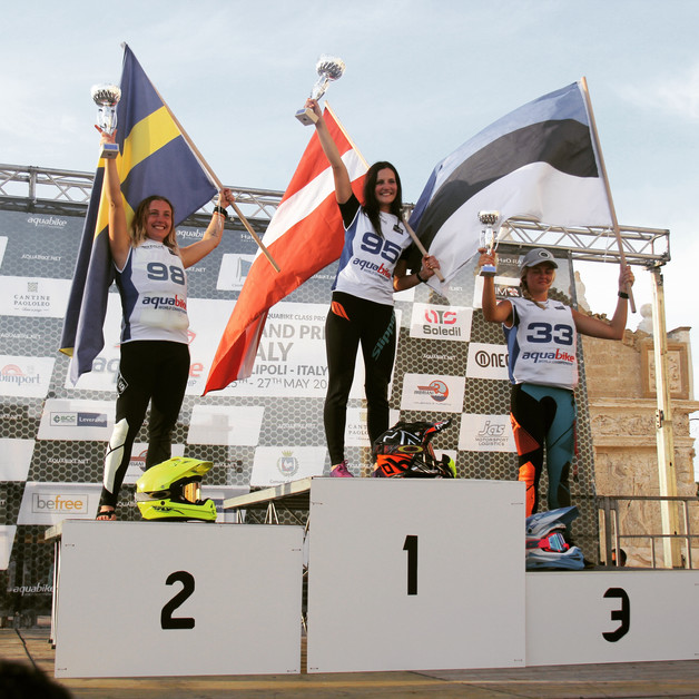 First Win in the GP of Italy