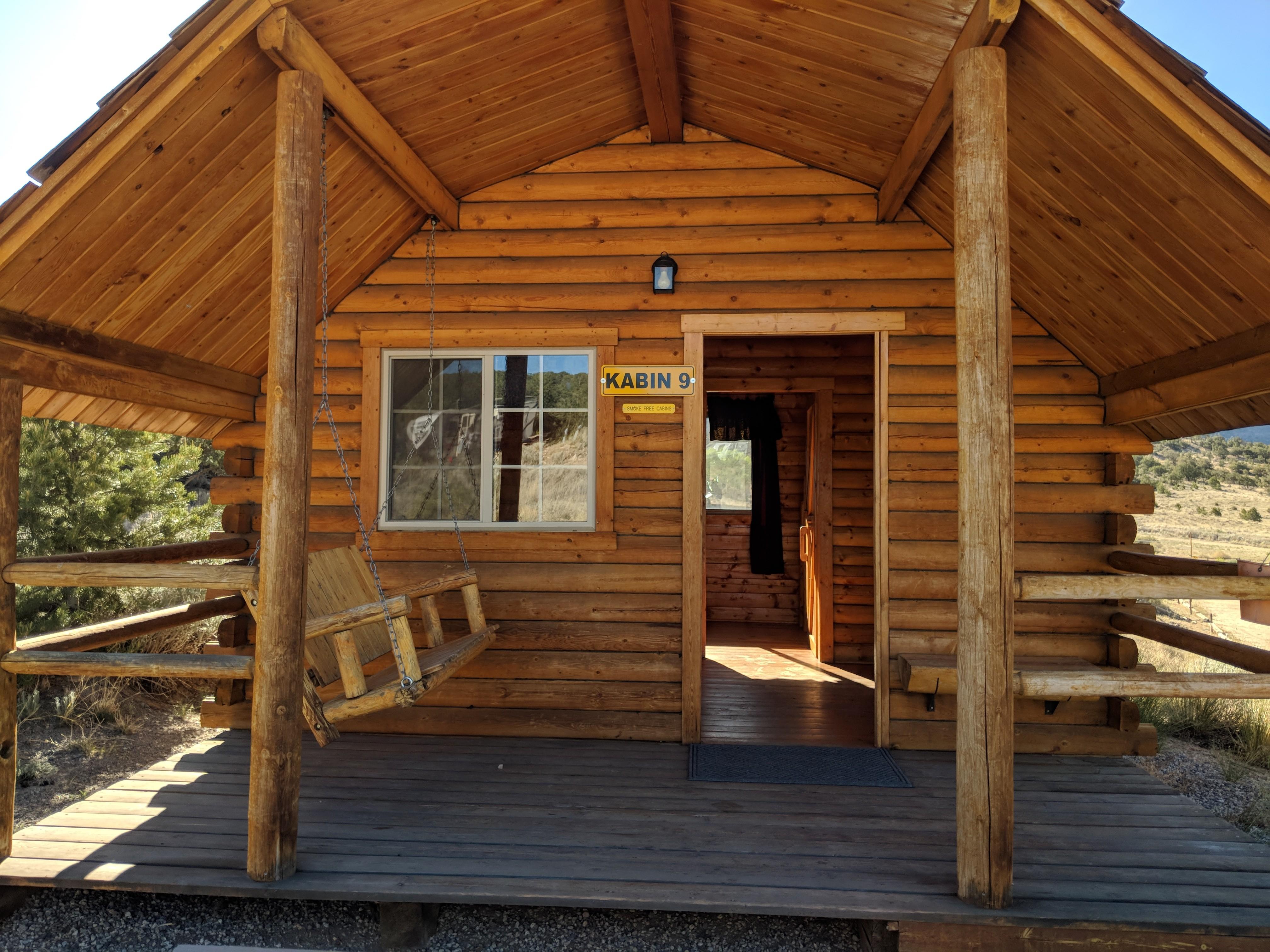 2 Room Cabin Exterior