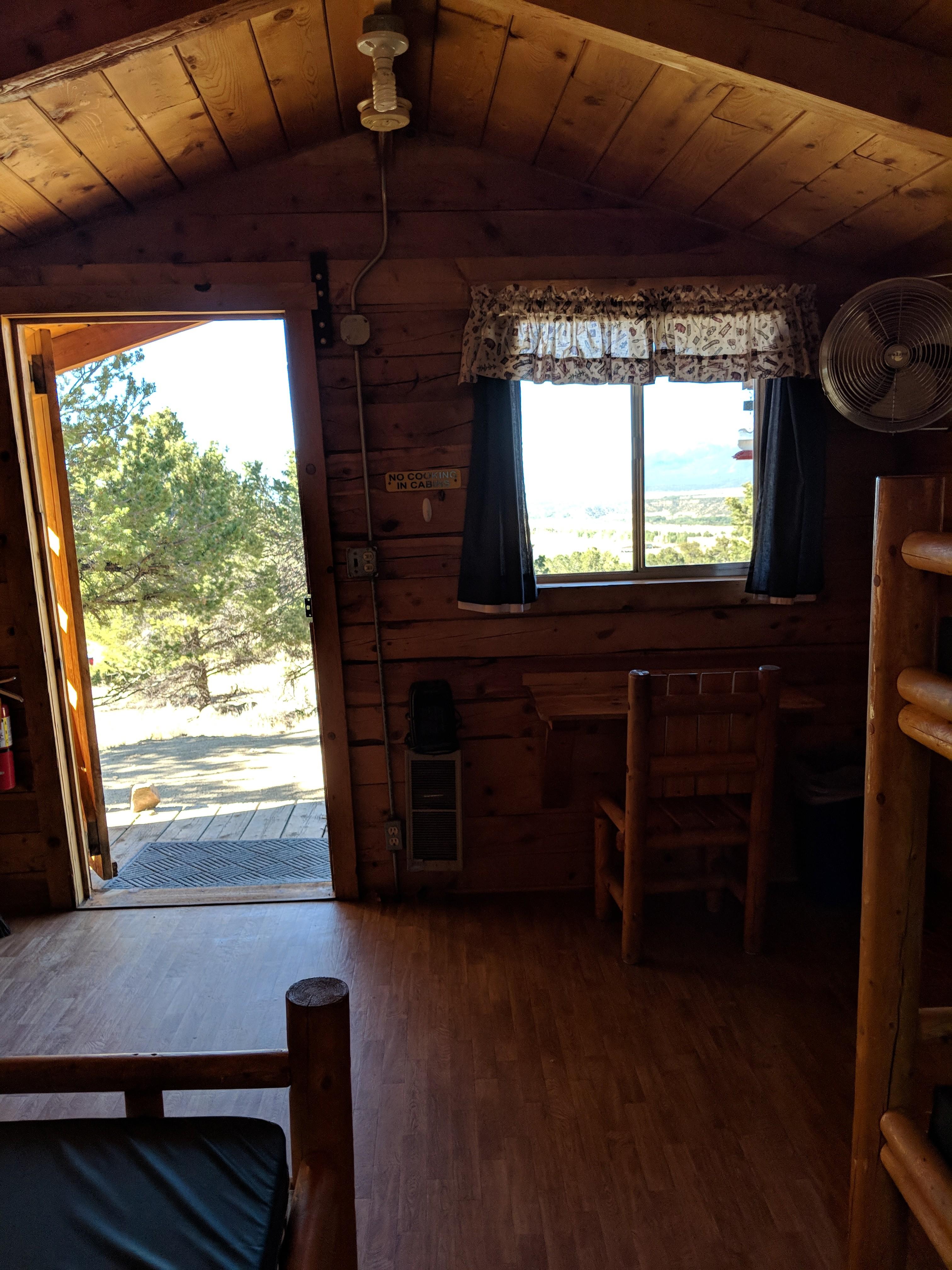 1 Room Cabin Interior