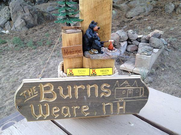 Burns - Weare, NH