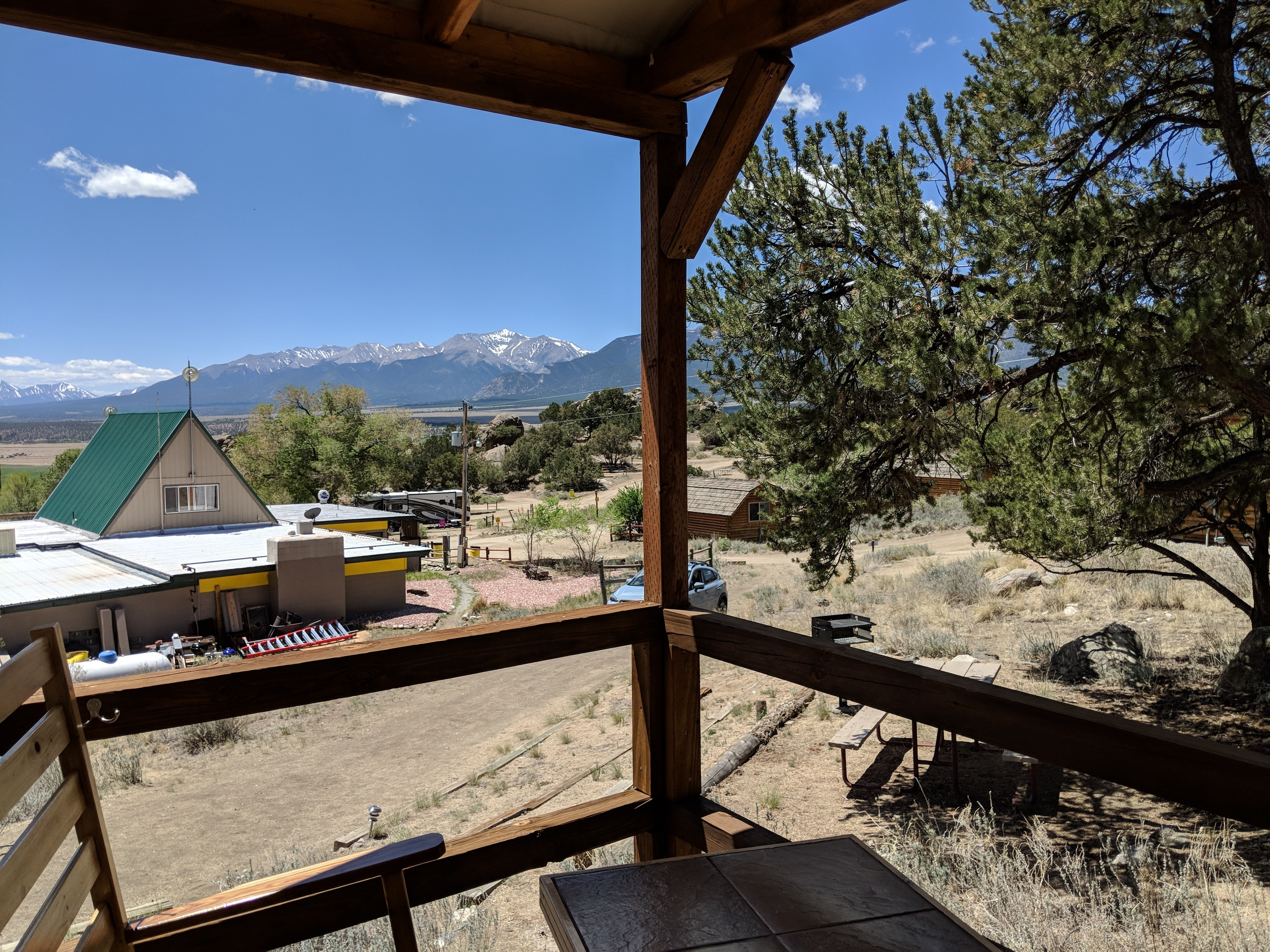 Tent Cabin View