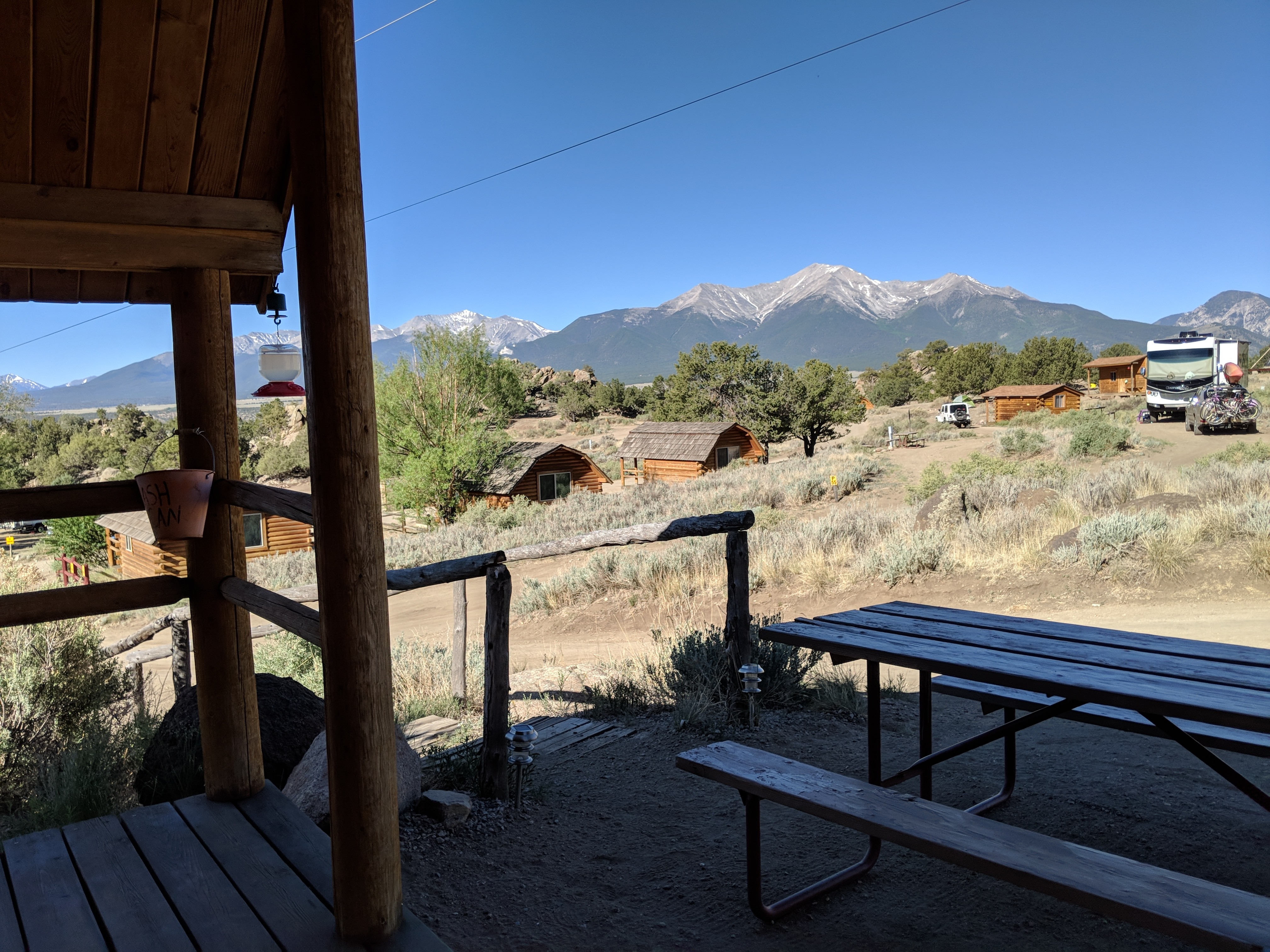 View from Cabin 9