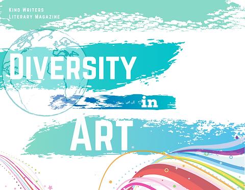 Kind Writers Diversity in Art Postcard